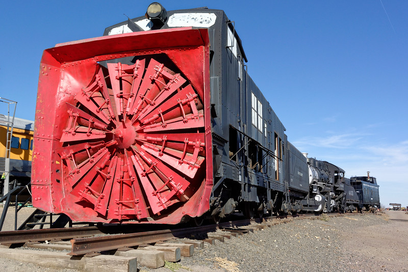 Colorado & Southern Rotary Snowplow No. 99201. It operated from 1899 to 1965.