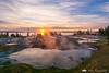 Sunrise at West Thumb