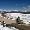 Pre-Memorial Day snow overlooking Boulder