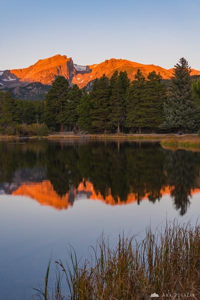 Sunrise at Sprague Lake