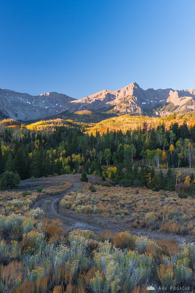 San Juan Mountains at sunrise