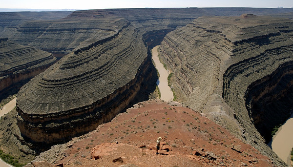 Landform landmarks 1: San Juan River Goosenecks, Utah, 13 September 2006