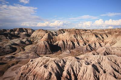Blue Mesa, Petrified Forest National Park, Arizona, USA.