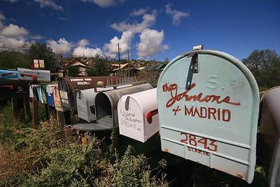 Madrid, New Mexico, USA.