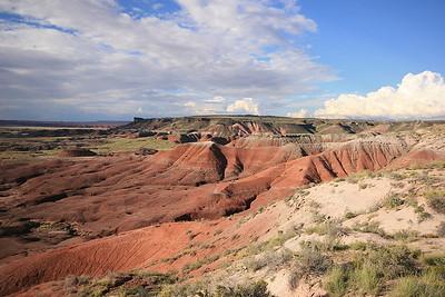 Painted Desert, Petrified Forest National Park, Arizona, USA.