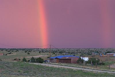 Rainbow @ Santa Fé. New Mexico, USA.