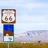 Historic Route 66 road sign, Arizona
