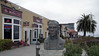 John Steinbeck statue,  Cannery Row, Monterey, California, 29 September 2006.