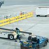 San Francisco Airport plane servicing