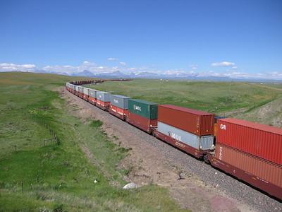 BNSF, 100 wagons
