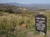 Mesa Verde National Park and fire 1, Colorado, 10 September 2006