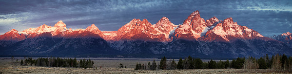 Early morning Tetons