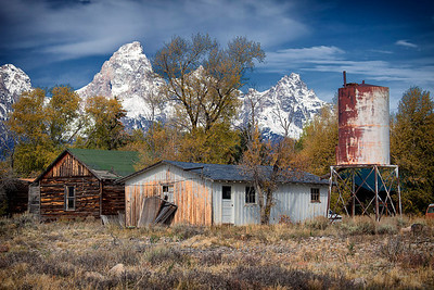 Old place at Tetons