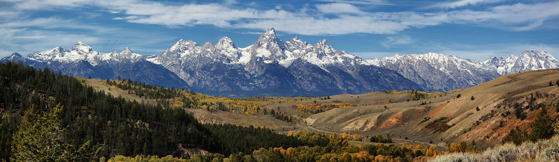 Tetons from further East