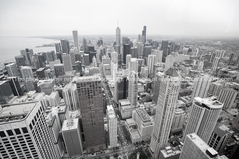 Architecture and cityscape of  Chicago, Illinois, USA.