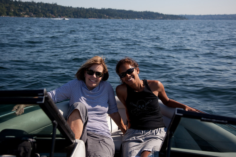 Cruisin lake Washington