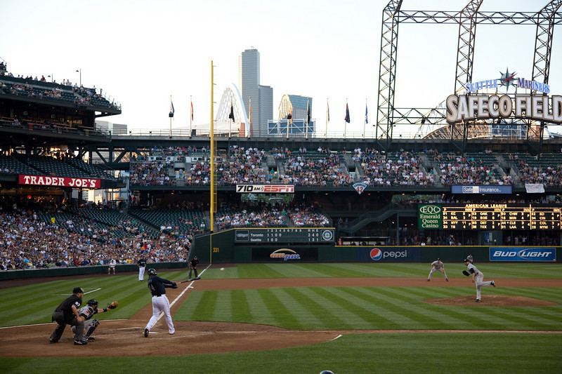Taking in a Mariners game