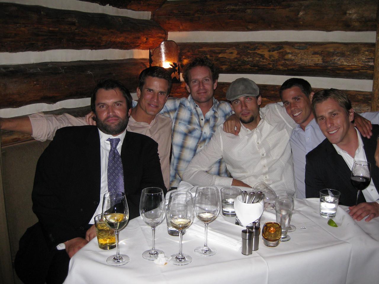 Ringo, Kurt, Sam, Toby, Adam and Keith