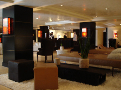 Huntley lobby