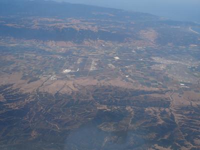 somewhere S of Monterey