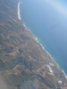 the coast S of San Francisco