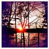 11/28/10 - Walden Pond Sunset