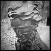 11/28/10 - Henry David Thoreau statue at Walden Pond