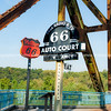 Old Chain of Rocks Bridge Route 66 St Louis Missouri USA