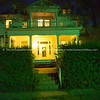 Stately homes at night Hannibal Missouri USA