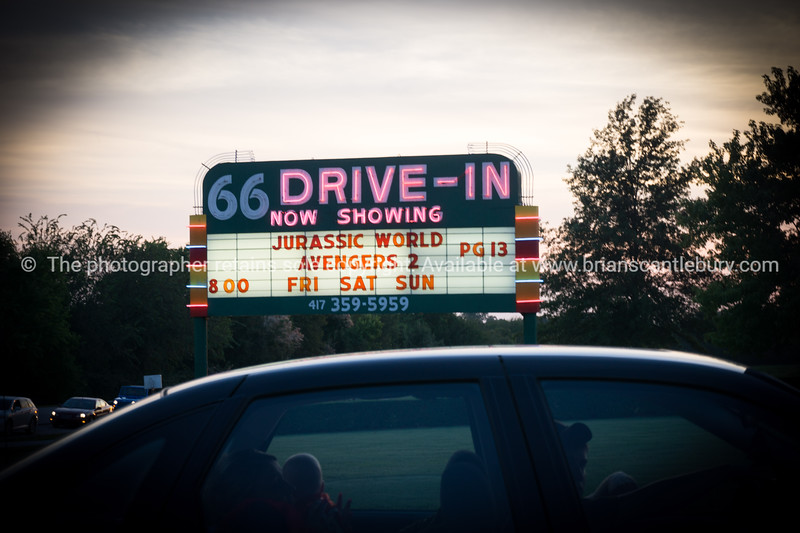 Carthage Drive-in, MO, USA