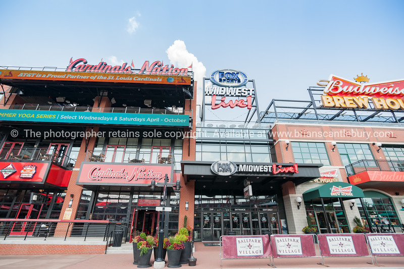 St Louis, architecture, Ballpark Village Missouri,USA.