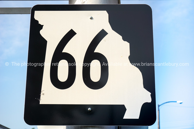 Missouri Route 66 signs, MO USA