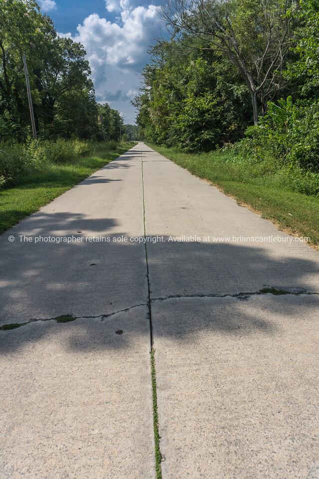 Concrete roads of Route 66 in MO