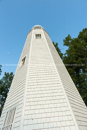 Mark Twain Memorial Lighthouse Hannibal Missouri USA.