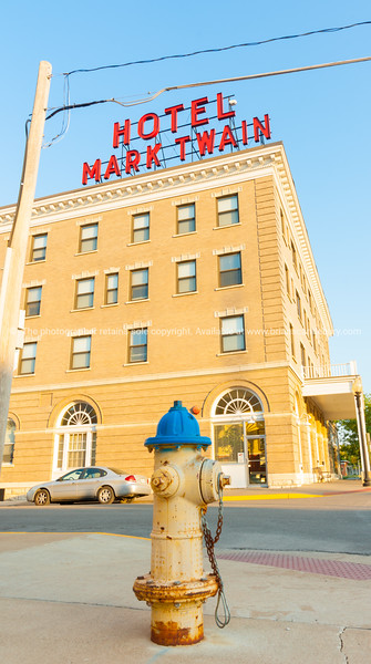 Mark Twain Hotel building Hannibal Missouri USA