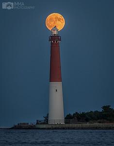 Moon Rise at Barnegat