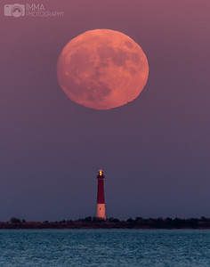 Strawberry Supermoon