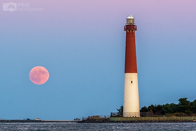 Moon Rise at Barnegat