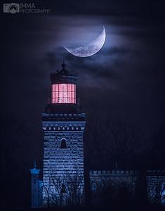 Christmas tree and the lighthouse