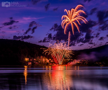 Fireworks At Sunset 1L (Liberty Township)