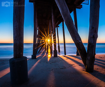 Early Walk (Sunrise Under Pier)