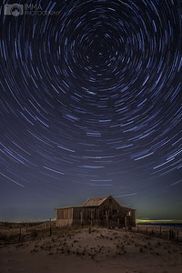 Stars by the shack