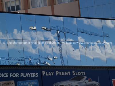 Vegas reflections.