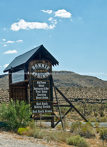 Bonnie Springs, Red Rock Canyon, Nevada, USA.