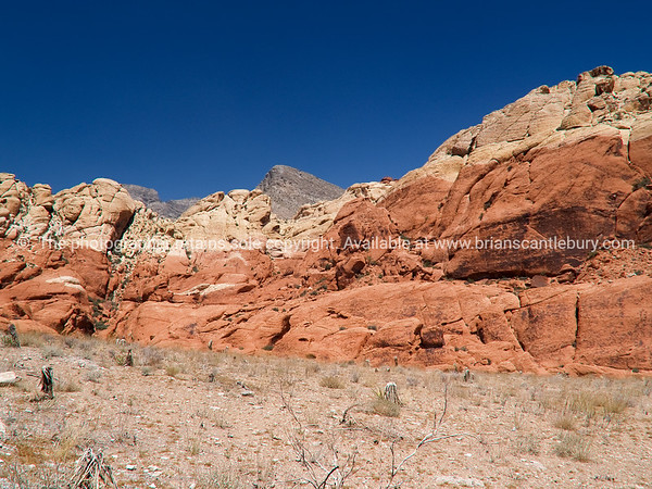 Red Rock Canyon, strata.