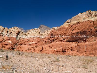 Red Rock Canyon, strata.