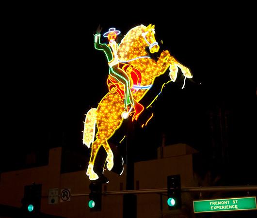 Fremont Street Experience 1.  Las Vegas, September 2006