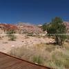 Landscape from viewing platform, Red Rock Canyon, located 20 miles west of Las Vegas off State Highway 159