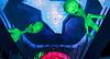 Fremont Street Experience: Space invaders 3.   Las Vegas, September 2006