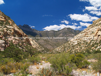 Nevada dramatic landscape.